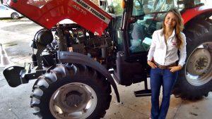 Solange Santana, supervisora de serviços da Massey Ferguson