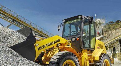 Maquinas de construcao da New Holland