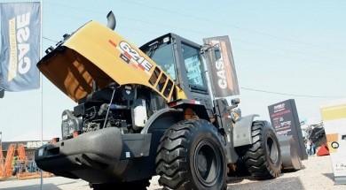 Pá-carregadeira 621E, lançamento na Show Rural