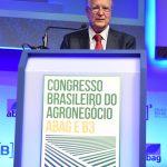 Embaixador Sérgio Amaral ministra palestra no Congresso Brasileiro do Agronegócio - Foto Gerardo Lazzari
