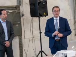 Eric Alström e Dr. Karl Werner