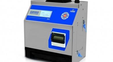 O modelo Gehaka G2000, aprovado pelo Instituto Nacional de Metrologia, Qualidade e Tecnologia (Inmetro), é um instrumento medidor de umidade de grãos para uso em transações comerciais. É uma versão com melhorias e avanços tecnológicos do modelo anterior, o G1000, também aprovado pelo Inmetro   Foto: divulgação